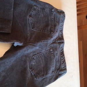 Loft size 8 curves boot charcoal gray pants